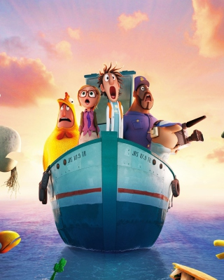 Cloudy With Chance Of Meatballs 2 2013 - Obrázkek zdarma pro iPhone 6 Plus