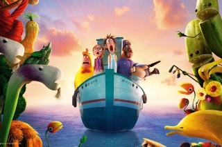 Cloudy With Chance Of Meatballs 2 2013 Wallpaper for Android, iPhone and iPad