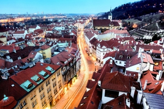 Prague Czech Republic Background for Android, iPhone and iPad