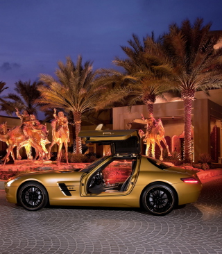 Mercedes-Benz SLS AMG Picture for HTC Titan