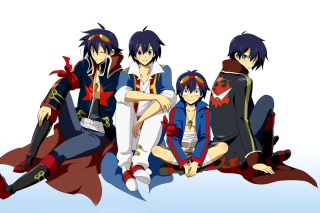 Gurren Lagann Background for Android, iPhone and iPad