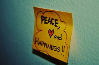 Peace Love And Happiness - Obrázkek zdarma