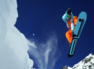 Utah Snowboard Background for Android, iPhone and iPad