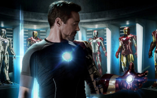 Free 2013 Iron Man Picture for Android, iPhone and iPad