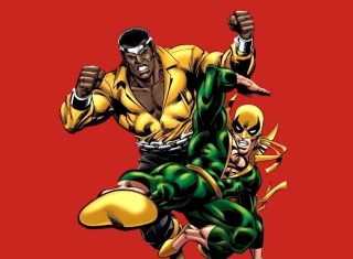 Power Man Background for Android, iPhone and iPad