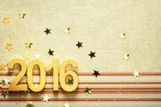 2016 New year Congratulations Wallpaper for Android, iPhone and iPad