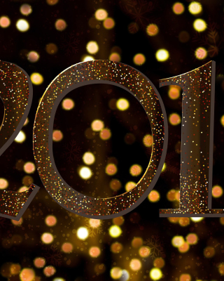 2018 New Year Texture sfondi gratuiti per iPhone 4S