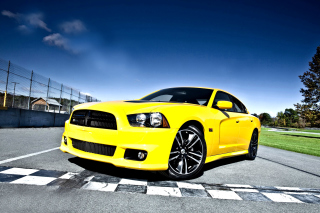 Dodge Charger SRT8 Wallpaper for Samsung Galaxy Tab 4
