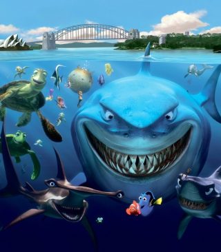 Free Finding Nemo Picture for Nokia Asha 311