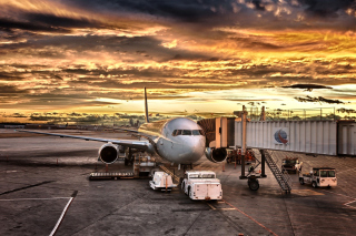 Free Schiphol Airport Picture for Android, iPhone and iPad