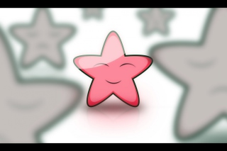Smiling Star Picture for Android, iPhone and iPad