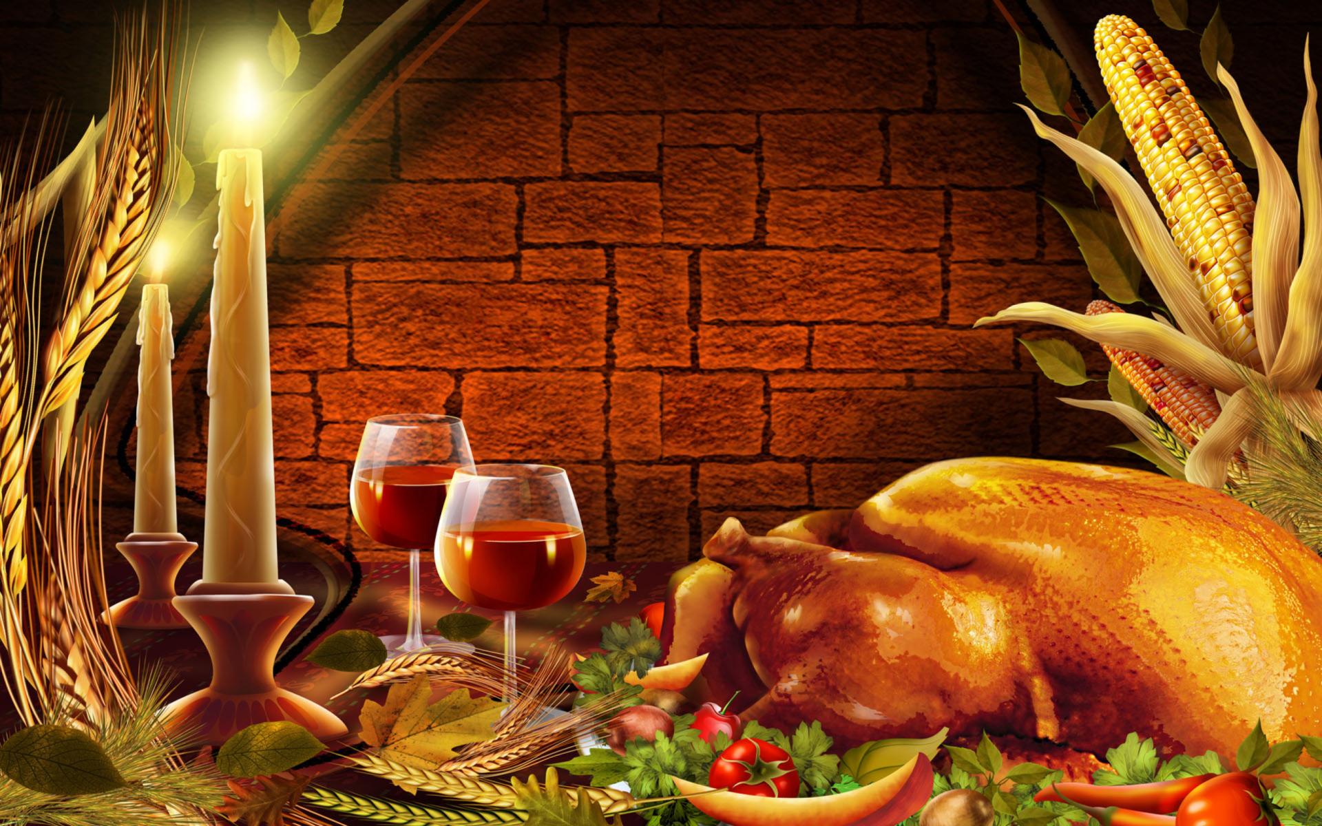 Добрым утром, открытки на день благодарения на английском