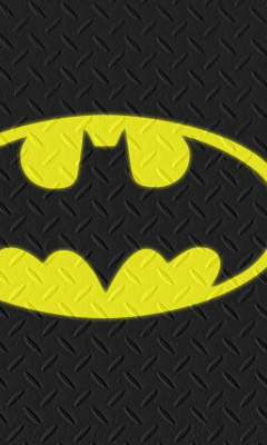 Обои Batman Logo 240x400
