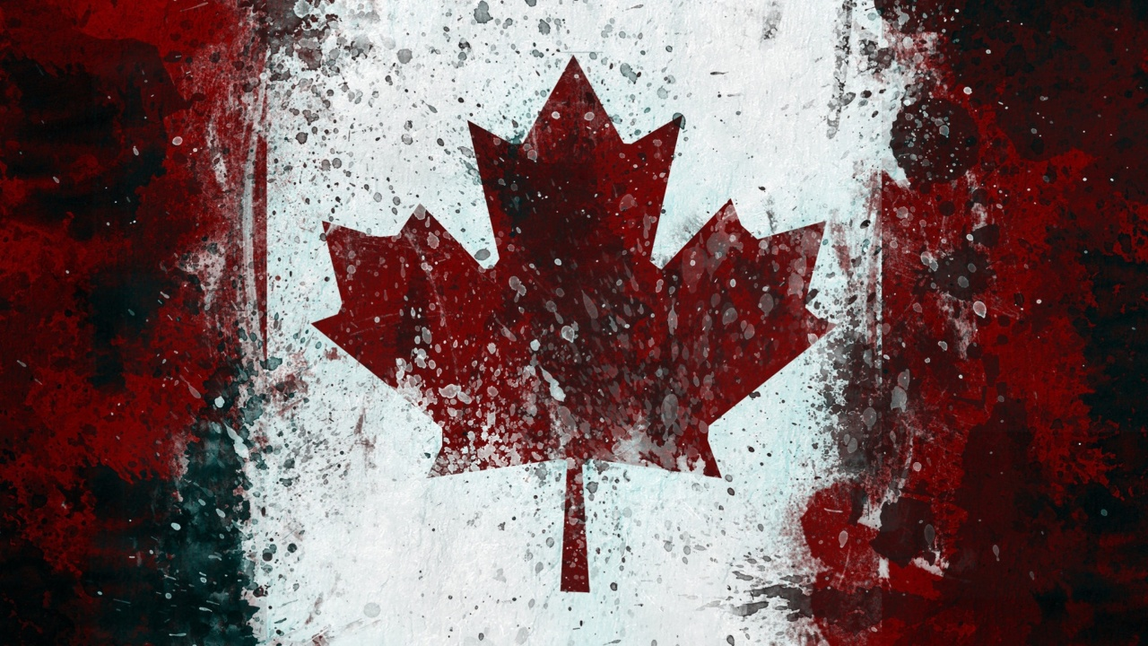Canada Flag wallpaper 1280x720