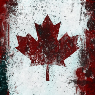 Canada Flag Picture for iPad 3