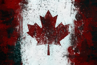 Canada Flag Background for LG Optimus U