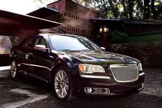Chrysler 300 2012 Background for Android, iPhone and iPad