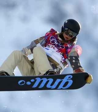 Kaitlyn Farrington American Snowboarder Background for HTC Titan