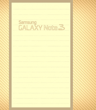 Galaxy Note 3 papel de parede para celular para iPhone 5S