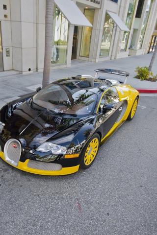 Bugatti Veyron para Huawei G7300