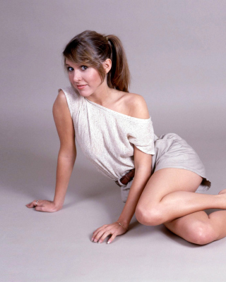 Carrie Fisher Wallpaper for iPhone 5C
