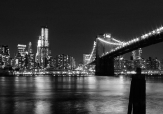 Kostenloses New York City Lights Wallpaper für Android, iPhone und iPad