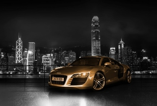 Gold And Black Luxury Audi - Obrázkek zdarma