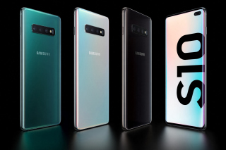 Samsung Galaxy S10 Background for Android, iPhone and iPad