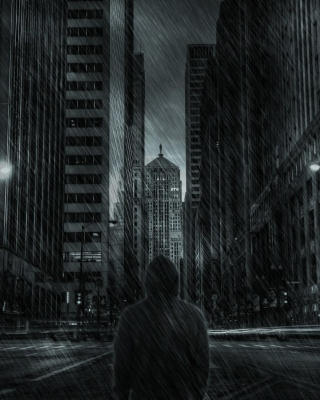 Dark City HD Background for HTC Titan