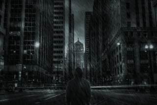Dark City HD Background for Android, iPhone and iPad