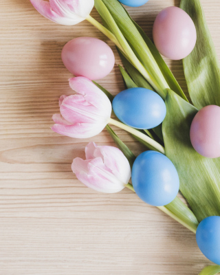 Free Easter Tulips Picture for Nokia Lumia 1020