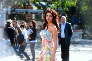Free Samantha in Dookudu Picture for Android, iPhone and iPad