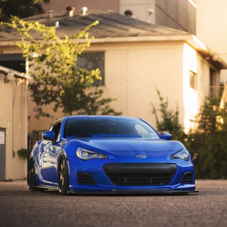 Subaru BRZ Background for iPad 2