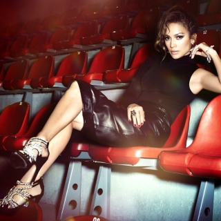 Jennifer Lopez Show Business Star sfondi gratuiti per iPad mini