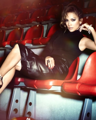 Jennifer Lopez Show Business Star Background for HTC Titan