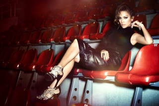 Jennifer Lopez Show Business Star Wallpaper for 220x176