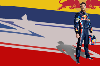 Free Sebastian Vettel Red Bull Picture for Android, iPhone and iPad