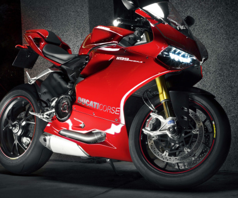 Das Ducati 1199 Wallpaper 480x400