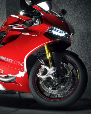 Ducati 1199 Background for 480x640