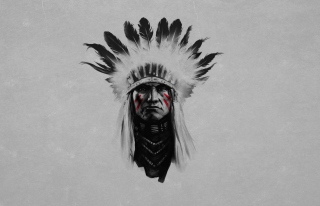 Indian Chief Wallpaper for 220x176