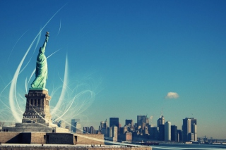 Statue Of Liberty Wallpaper for HTC Desire HD