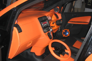 Interior Audio Cars sfondi gratuiti per LG P700 Optimus L7