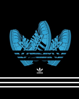 Adidas Shoes Background for Nokia C1-01