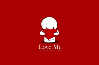Love Me Background for Android, iPhone and iPad