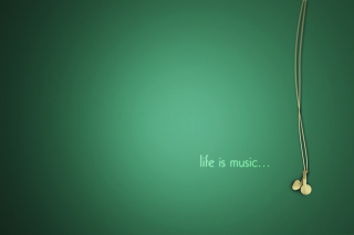 Free Life Is Music Picture for Android, iPhone and iPad