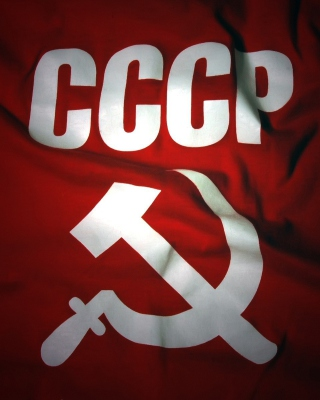 USSR Flag Picture for 240x320