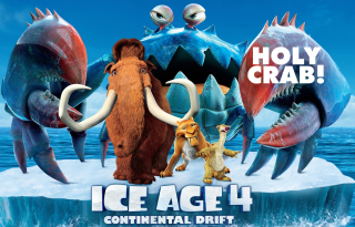 Ice Age 4 Continental Drift Background for Android, iPhone and iPad