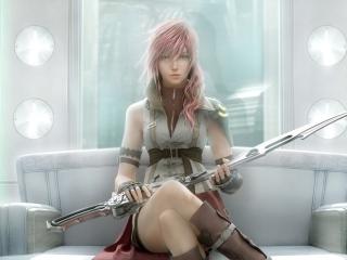 Lightning - Final Fantasy para Nokia Asha 201