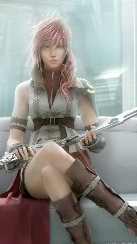 Lightning - Final Fantasy screenshot #1 480x854