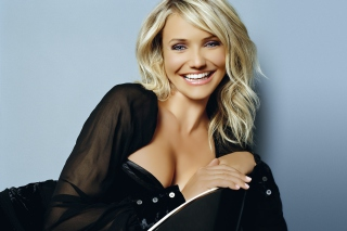Cameron Diaz Smile Picture for Android, iPhone and iPad